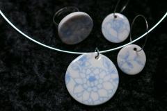 Les bijoux en version bleue