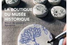 Flyer de la boutique du musée historique de Haguenau