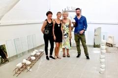 Un grand merci à mes professeurs pour leur soutien sans faille. De gauche à droite : Francoise Desplanques, Eva Jehlen, Odile Culas-Bonnin et Fabrice Palazzi