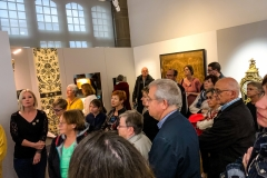 Soirée de vernissage de la salle XVIIIe siècle du musée historique de Haguenau